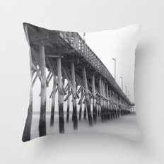 Pier IV Throw Pillow