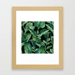 Isolde Leaves Ι Framed Art Print