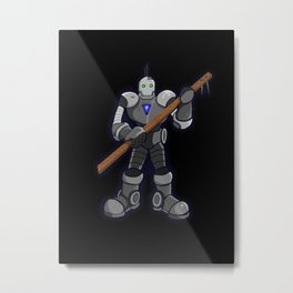 Advanced Primitive Metal Print
