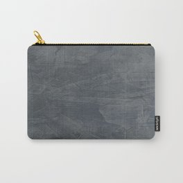 Slate Gray Stucco - Faux Finishes - Rustic Glam Carry-All Pouch