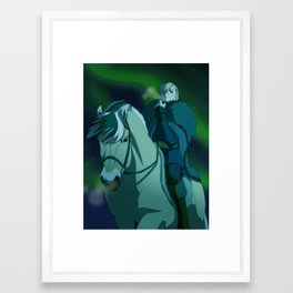 From horseback Framed Art Print