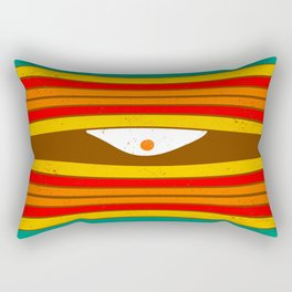 Eye Wave Rectangular Pillow
