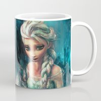 storm Mugs featuring The Storm Inside by Alice X. Zhang