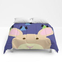 Purple Bunny Comforters