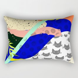Tropical Chaos Rectangular Pillow