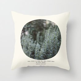 Bury Us 2 Throw Pillow