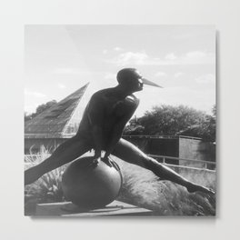 """The """"Wings of the City"""" sculpture exhibit by Mexican Artist Jorge Marín 4 Metal Print"""