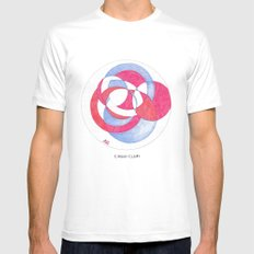 Cirque-cle #1 White Mens Fitted Tee MEDIUM