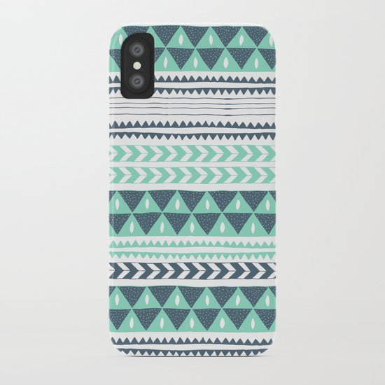 Winter Stripe iPhone Case