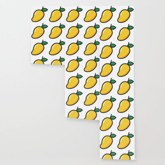 Mango Emoji Wallpaper