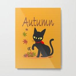 In the Autumn  Metal Print