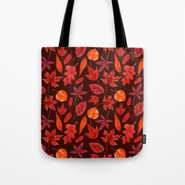 Autumn leaves watercolor Tote Bag