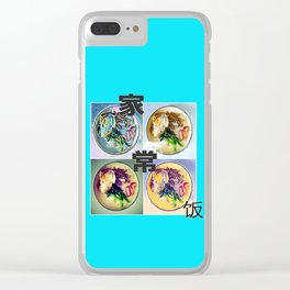 SINGAPORE HOME COOKED FOOD Clear iPhone Case