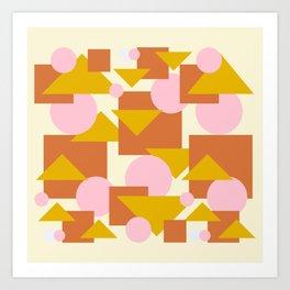 Geometric abstraction  #society6 #decor #buyart #artprint Art Print