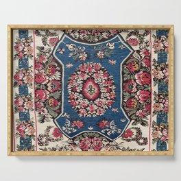 Bessarabian Moldavian Kilim Print Serving Tray