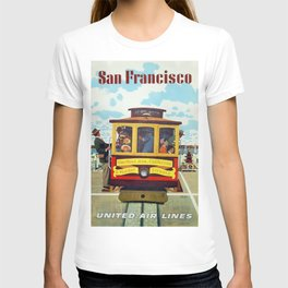 Vintage poster - San Francisco T-shirt