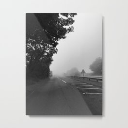the difference between fog and mist Metal Print