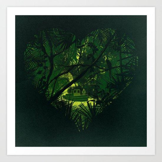 Heart of Darkness Art Print