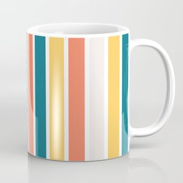 1970's inspired Stripes Coffee Mug