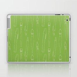 A pencil and a dream... greenery! Laptop & iPad Skin
