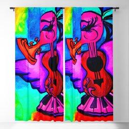 Lady Jazzy Bird Blackout Curtain