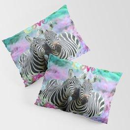 Zebra Love Pillow Sham