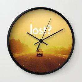 lost? Wall Clock