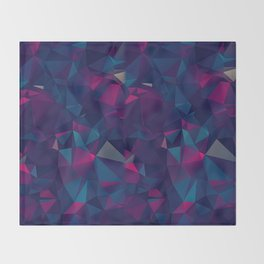 Amethyst ROCK PATTERN Throw Blanket