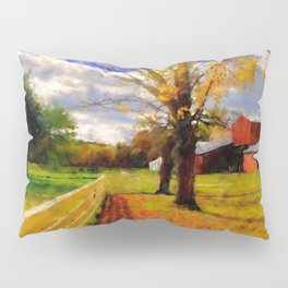 Massachusetts - Autumn Colors Pillow Sham