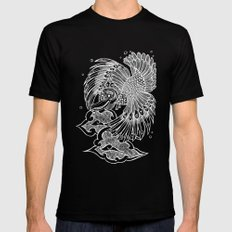 The Garuda Black Mens Fitted Tee LARGE