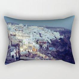 Fira at Dusk II Rectangular Pillow