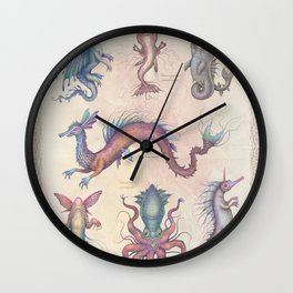 Creatures of the Deep Wall Clock