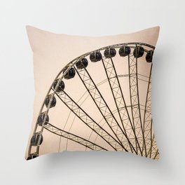 Along for the Ride Throw Pillow