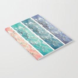 Vincent Van Gogh : Almond Blossoms Rainbow Panel ART Notebook