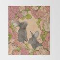 Rosie Rabbits by gobblynne