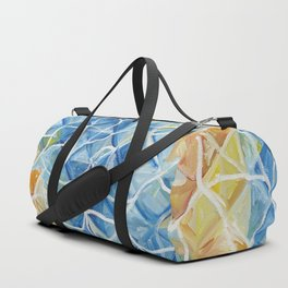 Fishes with riрples Duffle Bag