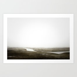 BARREN WASTELAND Art Print