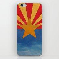 arizona iPhone & iPod Skins featuring Arizona by Michael Creese