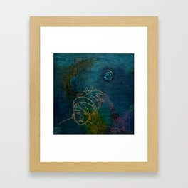 Dread Head Framed Art Print