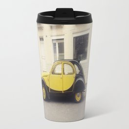Citroen jaune Travel Mug