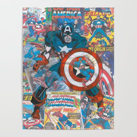 The American Superhero - Comic Art by ohmyseeds