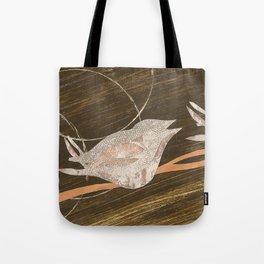 Birds Resting Tote Bag