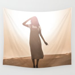 scorching heat Wall Tapestry