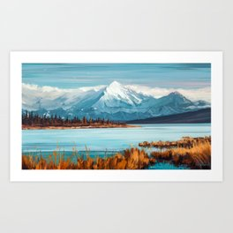 a Quiet Mind Art Print