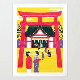 HATSUMODE Art Print