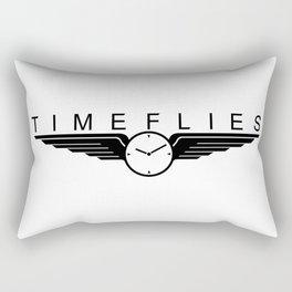 TIME FLIES TOUR BLACK Rectangular Pillow