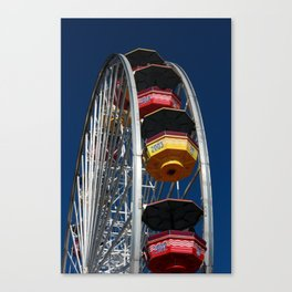 Santa Monica Pier, Ferris Wheel Canvas Print