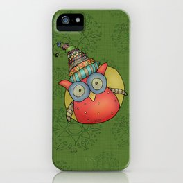 Puki Owl iPhone Case