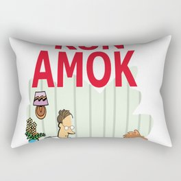 Tech Run Amok Rectangular Pillow