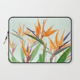 bird of paradise flower painting Laptop Sleeve